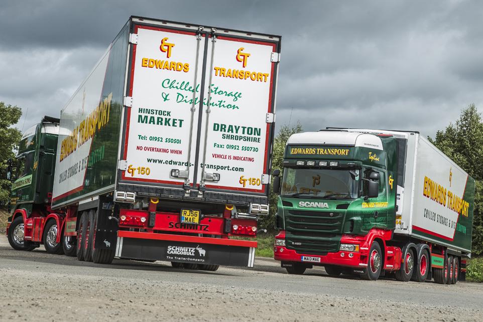 Edwards transport truck